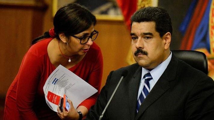 Maduro y Delcy