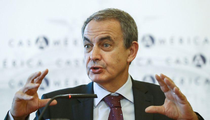 Zapatero dice que el gobierno de Bolivia delira / Foto: Casa de América