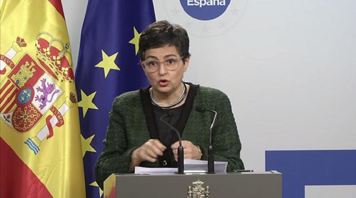La ministra fue clara en su respaldo a Guaidó, otra vez / Foto: Acción Exterior UE