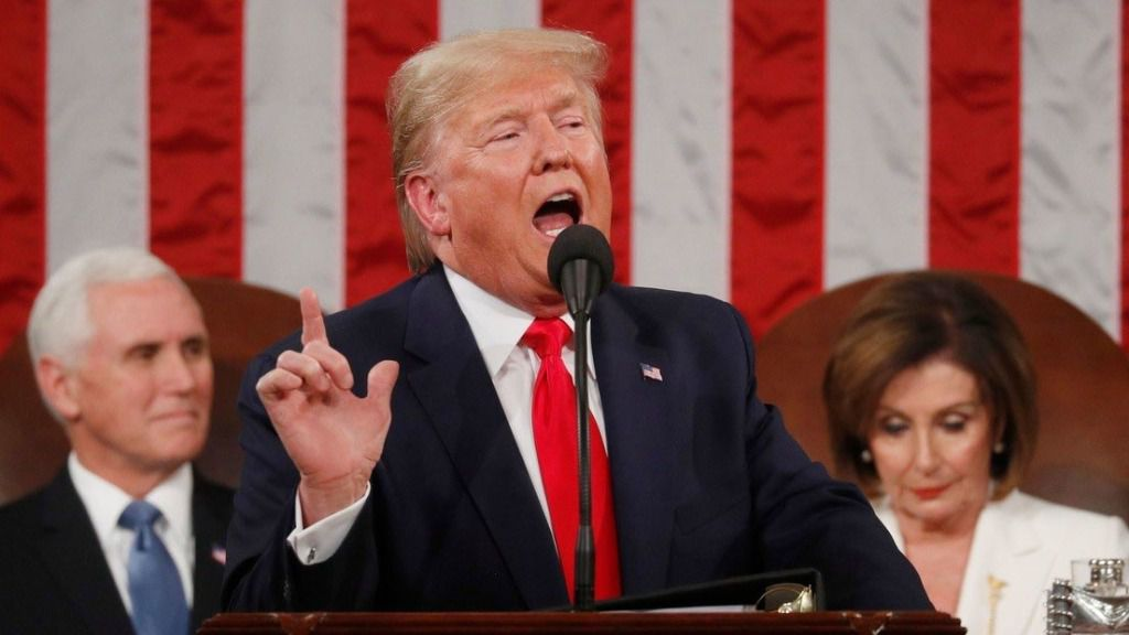 Trump ratifica su apoyo a Juan Guaidó / Foto: Capitolio
