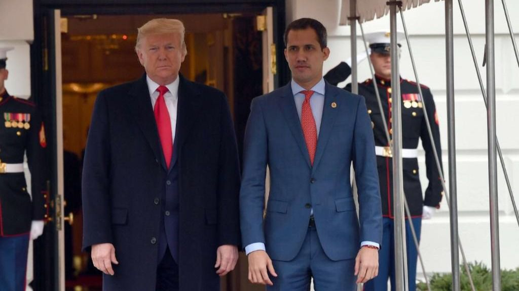 Guaidó recibió el espaldarazo de Trump / Foto: Alberto Federico Ravell