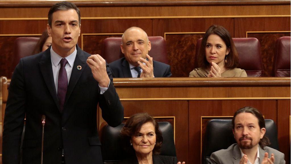 Ahora Sánchez llama a Guaidó líder de la oposición / Foto: La Moncloa