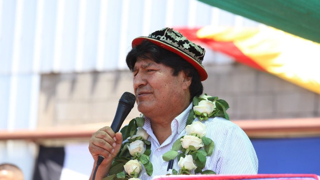 Evo Morales dice que se trata de un golpe a la democracia / Foto: @evoespueblo