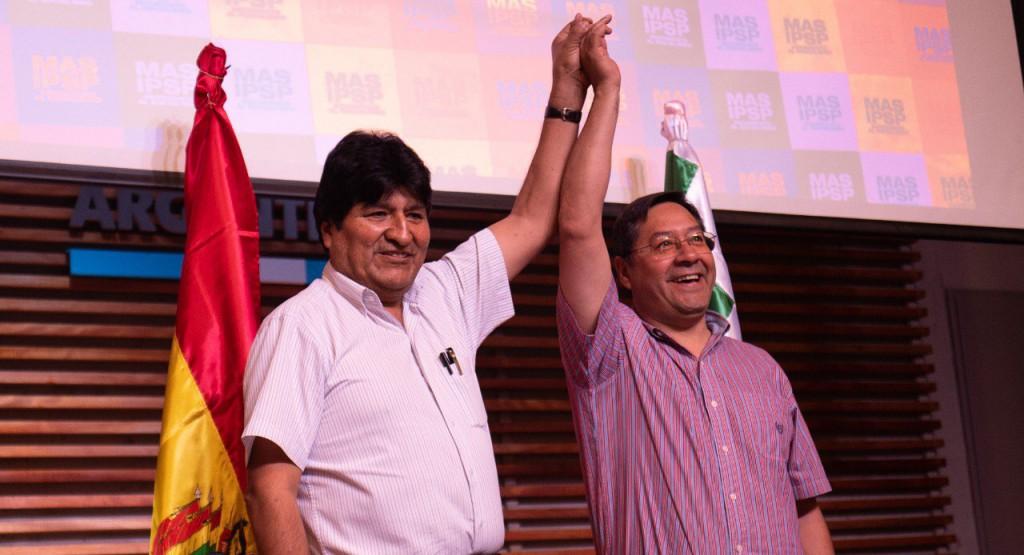 Luis Arce es el candidato de Evo Morales a la Presidencia / Foto: @evoespueblo