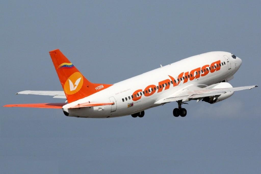 Las nuevas sanciones de EEUU tocan a la aerolínea estatal Conviasa / Foto: WC