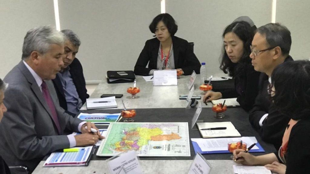 Una delegación del Banco de Desarrollo de China visitó Venezuela en 2018 / Foto: Cancillería