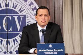 """El """"genio"""" de la ingeniería financiera es el ministro Simón Zerpa / Foto: Prensa Maduro"""