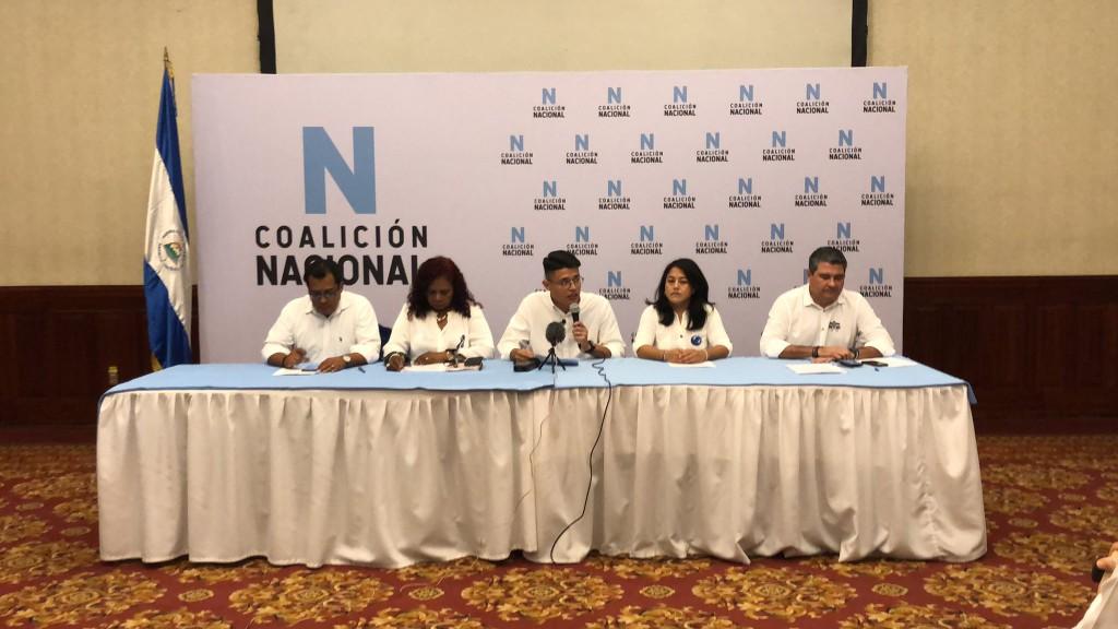 Este martes se constituyó la opositora Coalición Nacional / Foto: CoalicioNic_