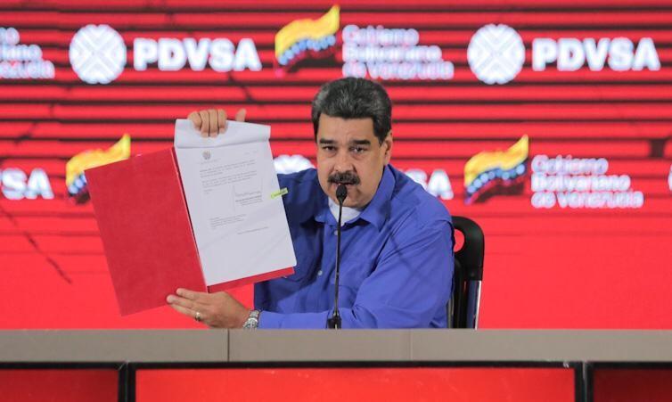 Maduro intenta sobrevivir gracias al esfuerzo del sector privado / Foto: Prensa Maduro
