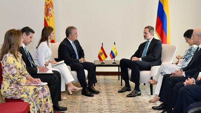Felipe VI está dispuesto a dar más apoyo al éxodo venezolano / Foto: Gobierno de Colombia