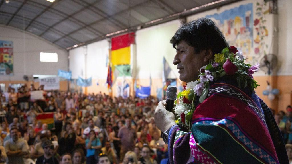 Evo Morales está de gira por el interior de Argentina / Twitter: @evoespueblo