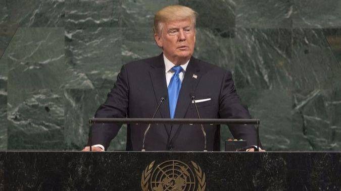 """""""Rechazamos el globalismo"""", dijo Donald Trump en la ONU en 2018 / Foto: ONU"""