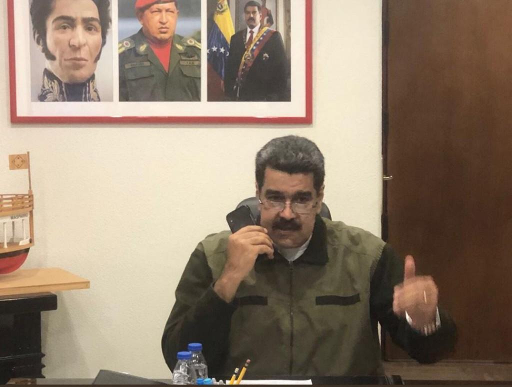 Maduro trata de solventar las sanciones a Conviasa trabajando con Aeropostal / Foto: Prensa Maduro