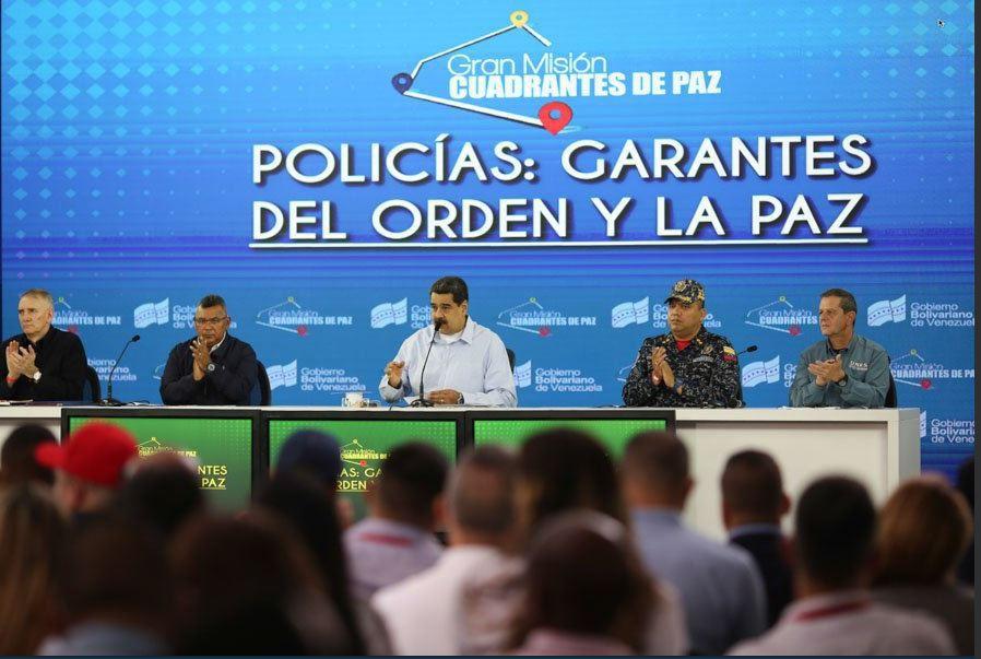 El estilo caótico de mandar Nicolás Maduro se refleja a todos los niveles / Foto: Prensa Maduro