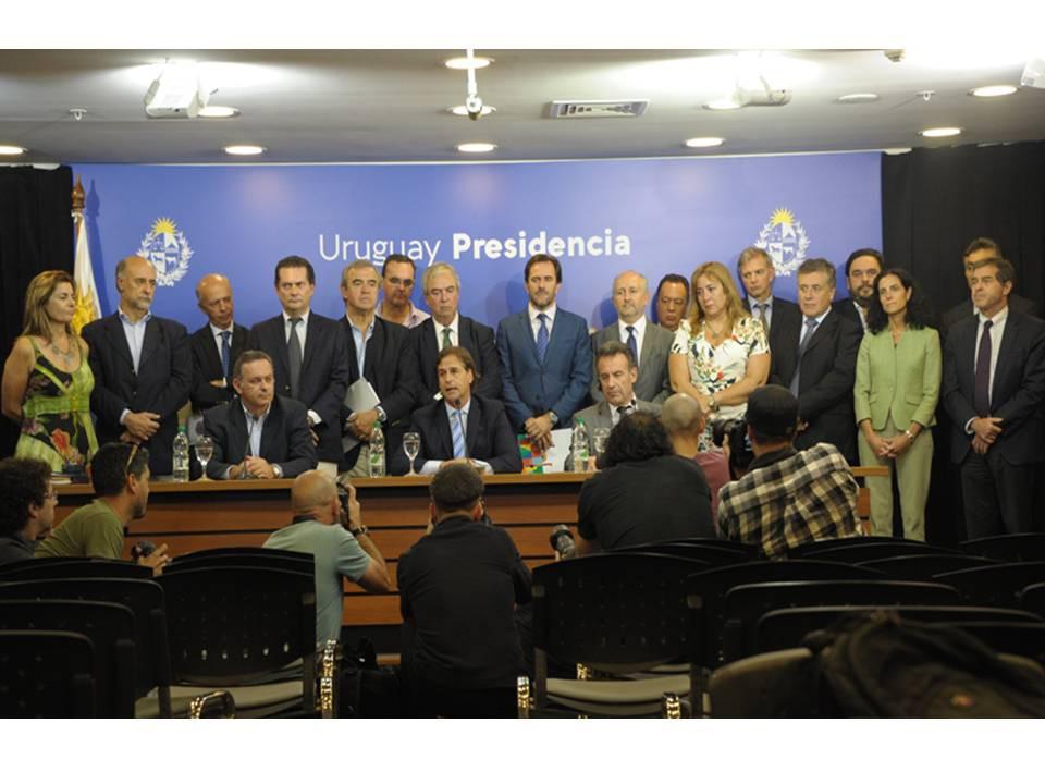 Luis Lacalle Pou suspendió las clases con sólo 6 casos en Uruguay / Foto: Presidencia
