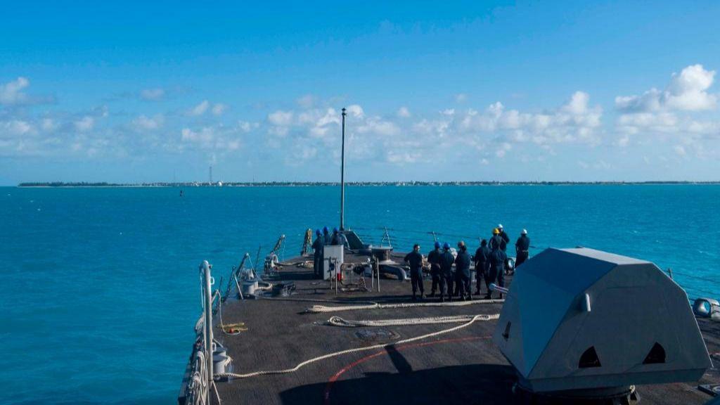 Se anticipa un operativo nunca visto en el hemisferio occidental / Foto: Marina de EEUU