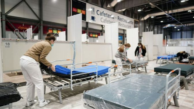 Los profesionales de la salud están en el frente de batalla / Foto: Salud Madrid