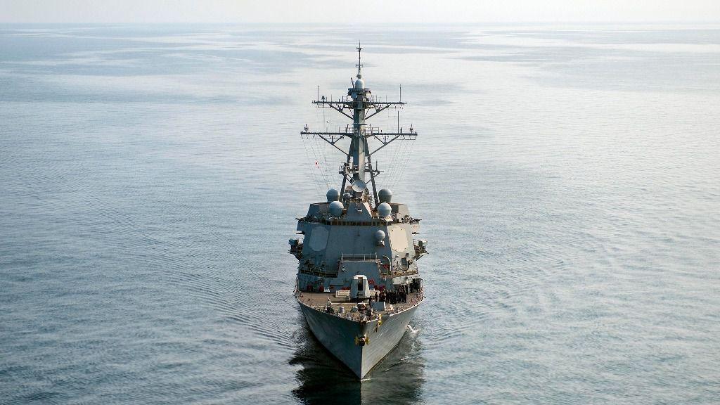 El buque USS Kidd ya surca el Caribe / Foto: Marina de EEUU