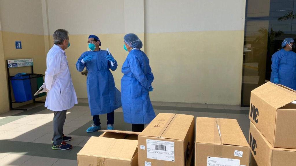 A Ecuador el coronavirus le pilló sin referencias / Foto: Salud Ecuador