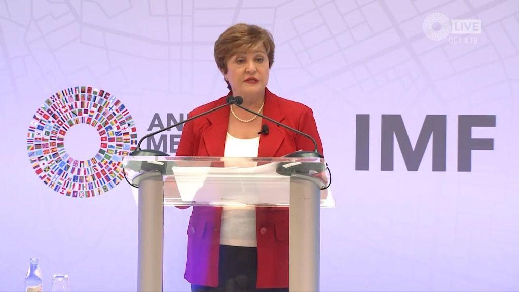"""Kristalina Georgieva: Esta es una """"crisis sin precedentes"""" / Foto: FMI"""