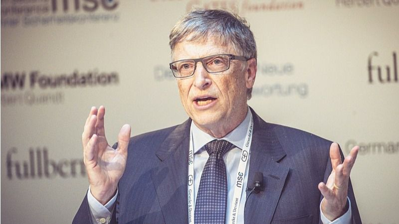 Bill Gates está empeñado en descubrir la vacuna contra el Covid-19 / Foto: WC