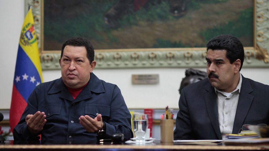 Nicolás Maduro Hugo Chávez