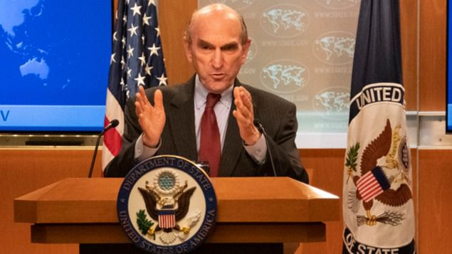 Elliott Abrams niega contactos formales entre Guaidó y Maduro / Foto: Departamento de Estado