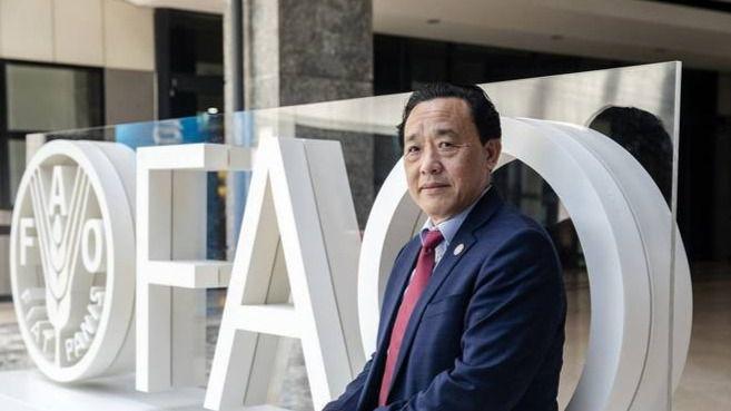Qu Dongyu es el primer chino en dirigir la FAO / Foto: FAO