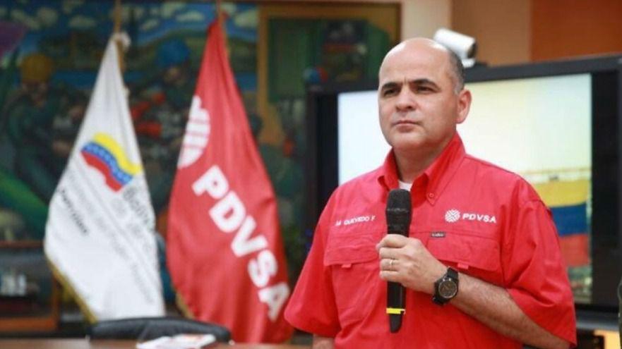 El general Quevedo llegó mintiendo a PDVSA / Foto: PDVSA