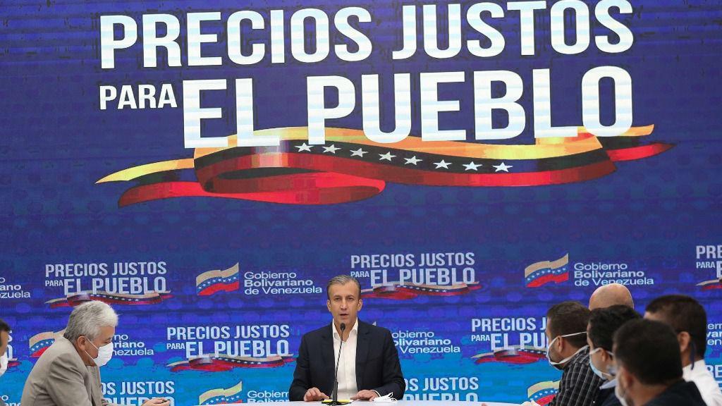 Tareck El Aissami aparece como el pragmático de la economía / Foto: PSUV