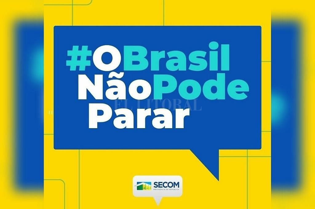 Instagram del gobierno de Brasil