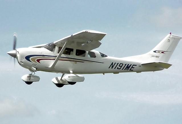 En un principio los aviones preferidos eran los pequeños Cessna 206 / Foto: WC