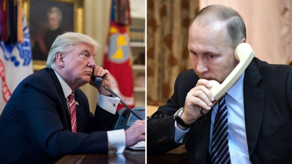 Las conversaciones entre Trump y Putin muestran el aumento de la presión internacional/ Montaje: ALN