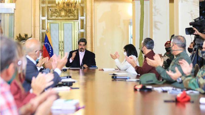 Maduro asegura tener apoyo de China y Rusia para enfrentar el coronavirus / Foto: Prensa Maduro
