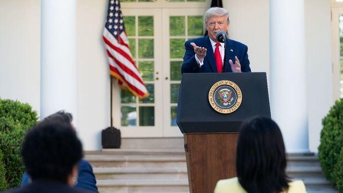 Muchos pueden cuestionar a Trump, pero confían en las instituciones de EEUU / Foto: Casa Blanca
