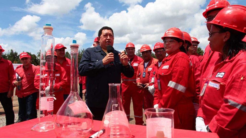 A Chávez el precio de la gasolina le dio un relato para el poder / Foto: PDVSA