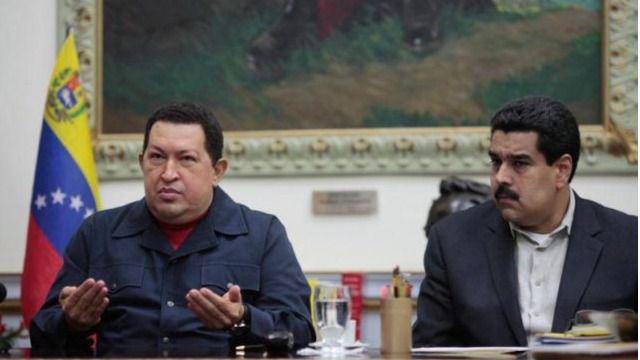 Chávez ahora tiene en contra a Maduro / Foto: Captura