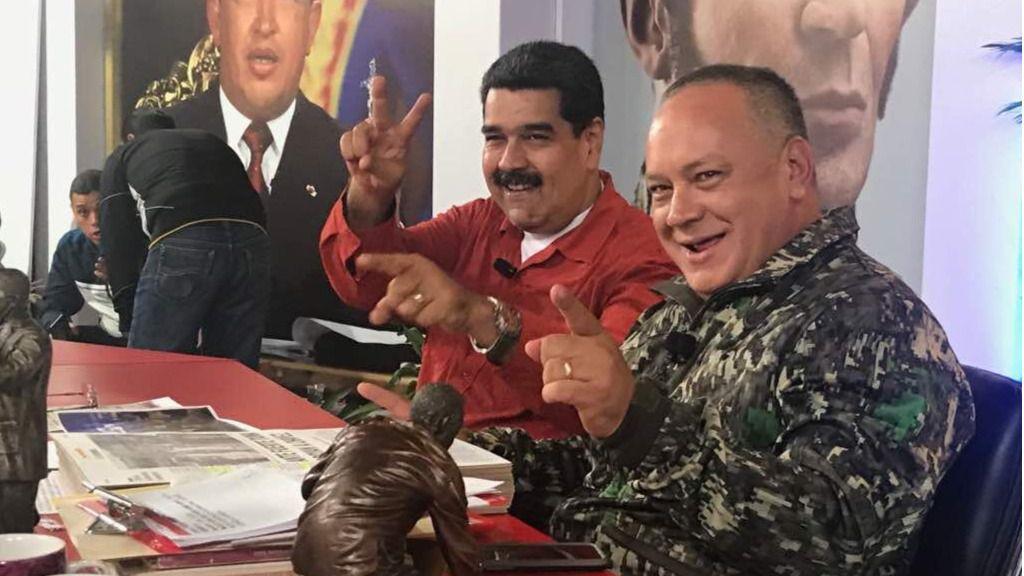 Maduro y Diosdado