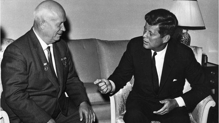 John F. Kennedy Nikita Kruschev