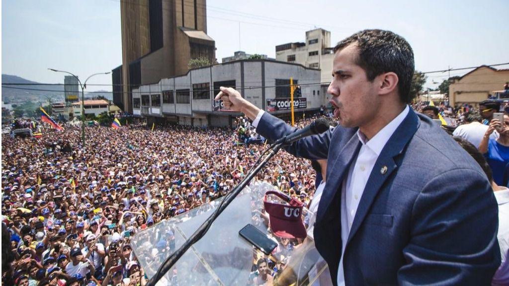 Maduro quiere que Guaidó se amilane / Foto: @jguaido