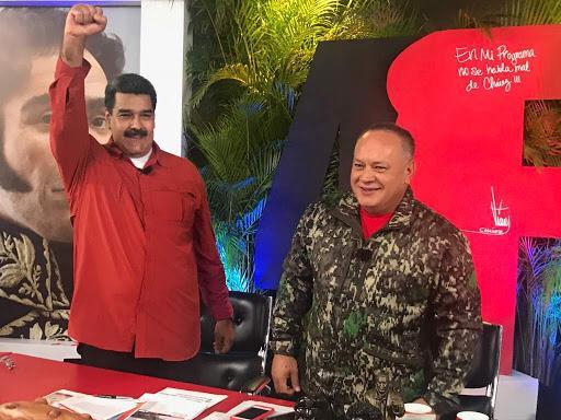 """Cabello tiene el protagonismo de la """"victoria"""" contra la Operación Gedeón / Twitter: @NicolasMaduro"""