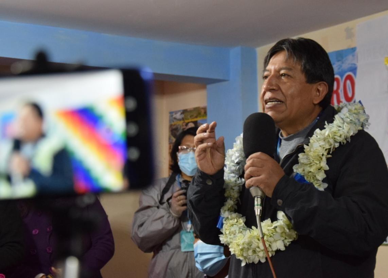 Choquehuanca fue también exministro de Evo Morales / Foto: MAS