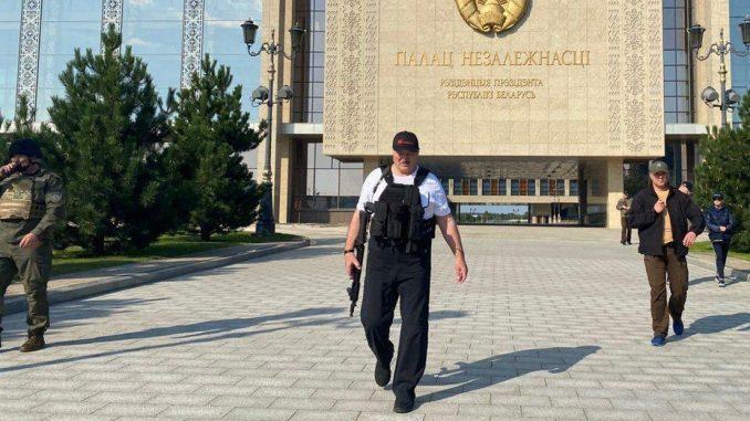 Aleksandr Lukashenko practica una represión feroz en Bielorrusia / Foto: Pres. Bielorrusia
