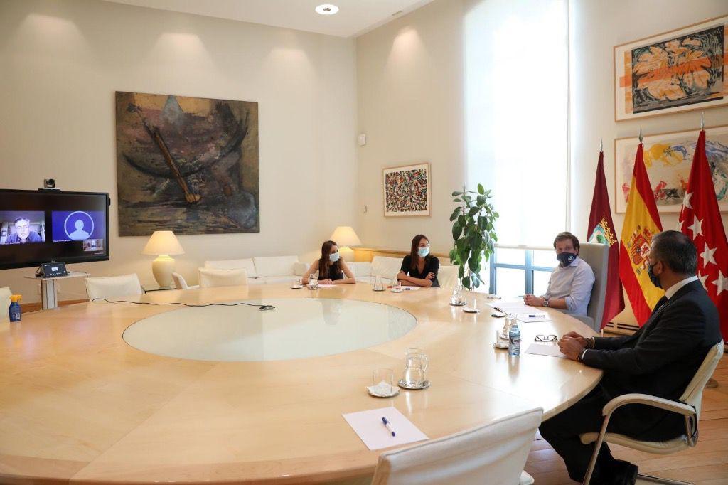 El alcalde Martínez-Almeida ha mantenido una política de conciliación / Foto: @AlmeidaPP_