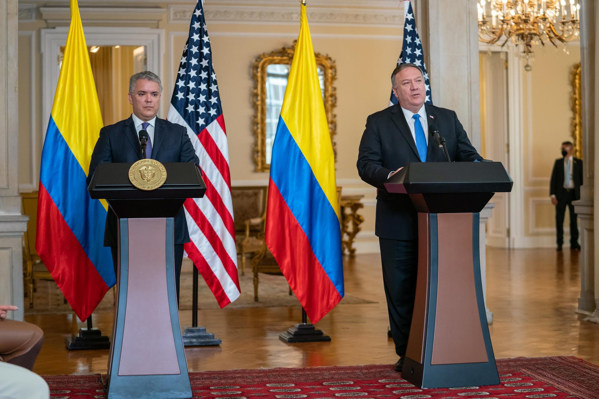 Pompeo visitó Colombia, Surinam, Guyana y Brasil / Foto: Departamento de Estado