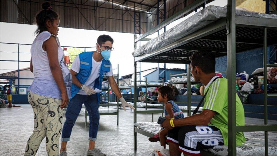 El apoyo a los migrantes es ahora más necesario que nunca, dice Cruz Roja / Foto: Acnur
