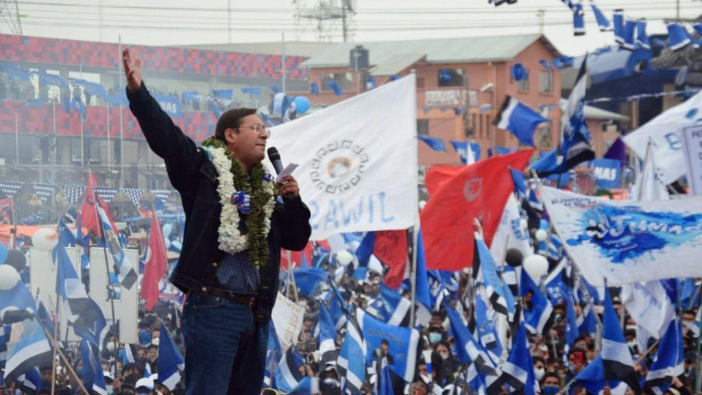 Luis Arce reitera que es su gobierno, no el de Evo Morales / Foto: MAS