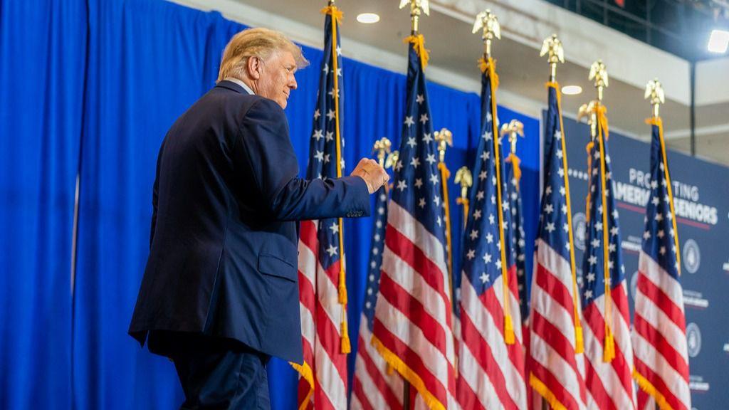 Trump ya le ganó en Florida a Hillary Clinton / Foto: Casa Blanca