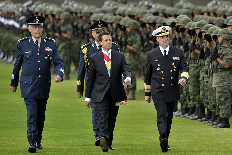 Salvador Cienfuegos Zepeda fue secretario de la Defensa Nacional de Enrique Peña Nieto / Foto: WC
