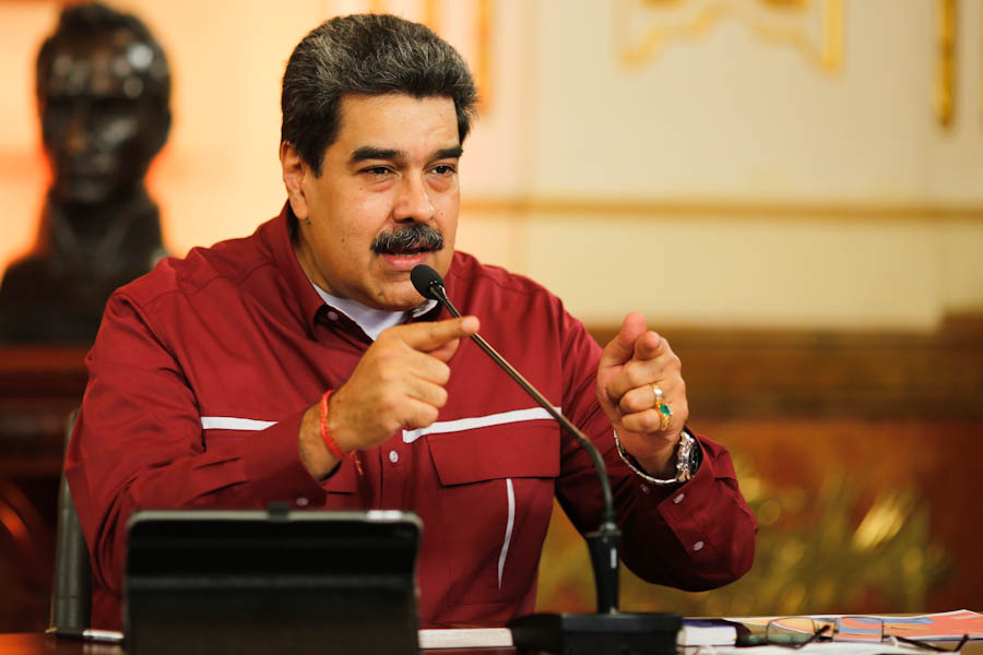 Maduro se esfuerza por crear la imagen de un país próspero y feliz / Foto: PrensaVE